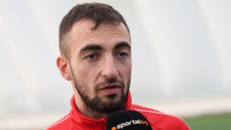 Даниел Младенов: Радвам се, че вкарах първия си гол за ЦСКА