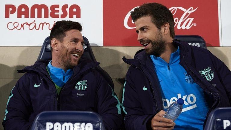Меси и Пике се завръщат в групата на Барселона за сблъсъка с Валенсия