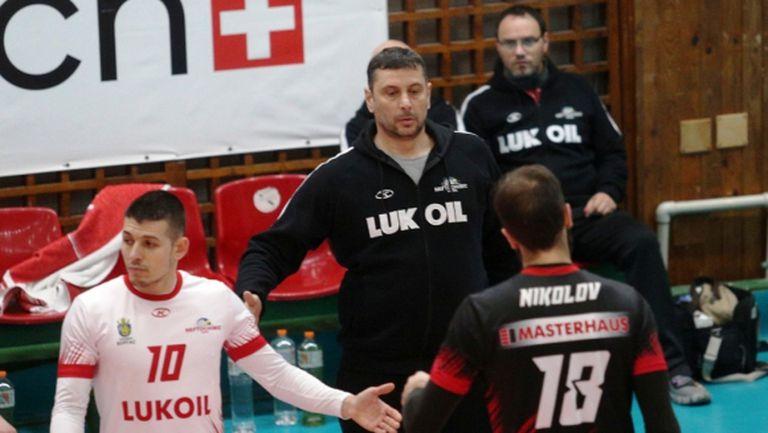 Николай Желязков: Беше труден мач по ред причини