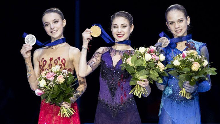 Руски подиум при жените на европейското в Грац, Александра Фейгин завърши 17-а