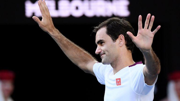 Велик Федерер се превъплъти в Худини и спаси седем мачбола!