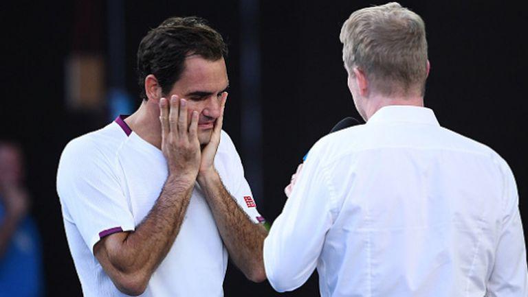 Федерер: Не заслужавам тази победа, вече трябваше да съм на ски в Швейцария (видео)