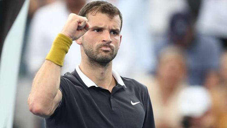 Григор Димитров с първа победа за календарната година