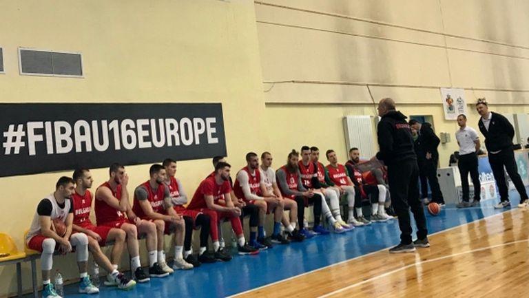 Националите по баскетбол победиха Левски Лукойл в контрола