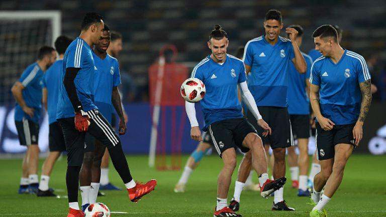 Реал Mадрид с първа тренировка за годината