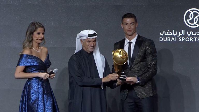Кристиано отново грабна Globe Soccer Awards