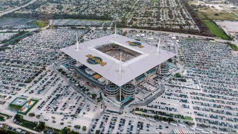 """Стадион """"Hard Rock"""" в Маями - арената на Супербоул LIV"""