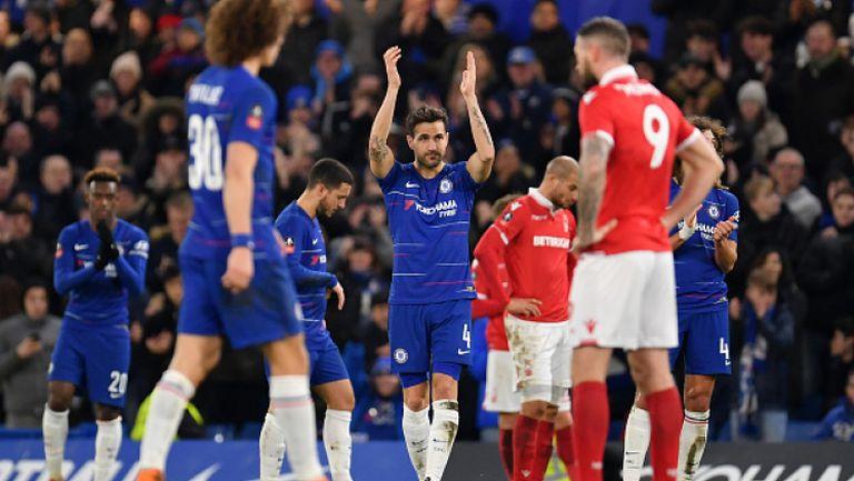 Фабрегас изпусна дузпа в последния си мач за Челси