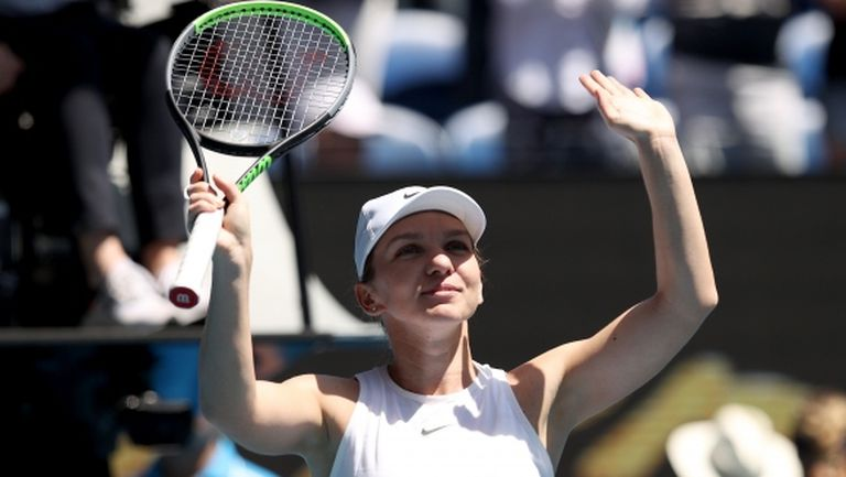 Симона Халеп даде само два гейма по пътя към 1/2-финалите в Мелбърн