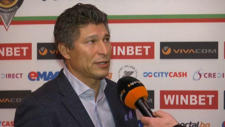 Красимир Балъков: Надявам се Иван Петков да спечели за красив гол