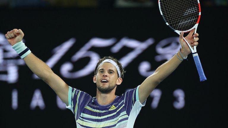Вдъхновен Тийм изхвърли Надал от Australian Open