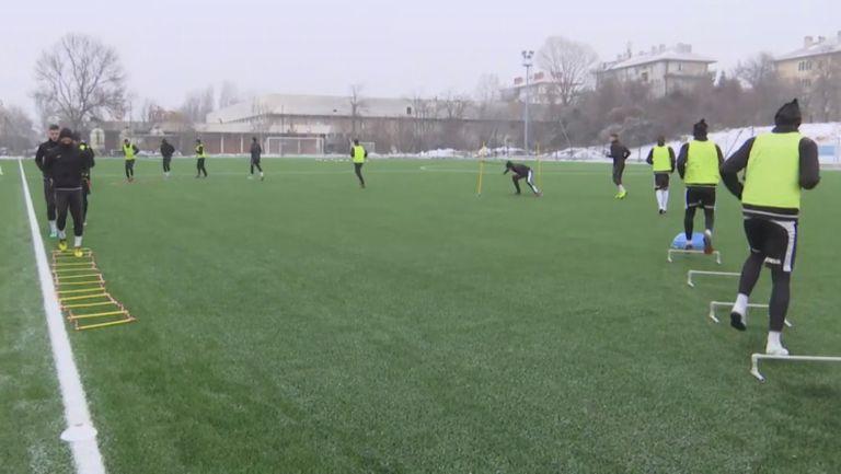 Славия с първа тренировка за 2019