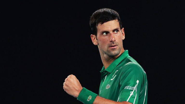 """Джокович отново """"подчини"""" Федерер и гледа към осмата в Мелбърн"""