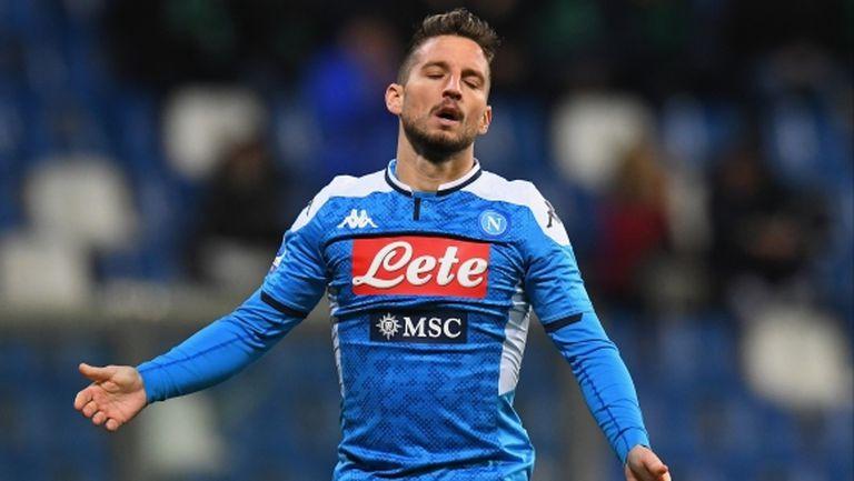 Наполи отказа да продаде Мертенс на Челси за 8 милиона евро