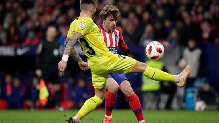 Атлетико Мадрид - Жирона 3:3