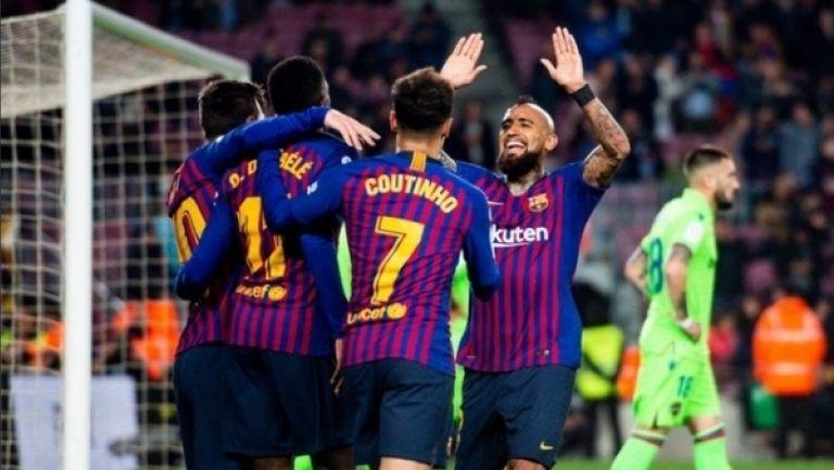 Барселона - Леванте 3:0