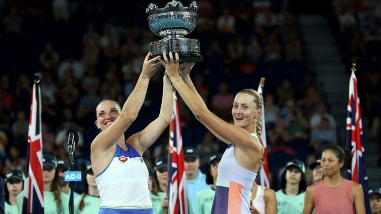 Бабош и Младенович спечелиха титлата на двойки в Мелбърн