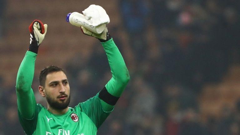 Райола не е съгласен Донарума да преподпише с Милан
