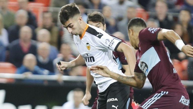 Един гол стигна на Валенсия срещу Селта (видео)