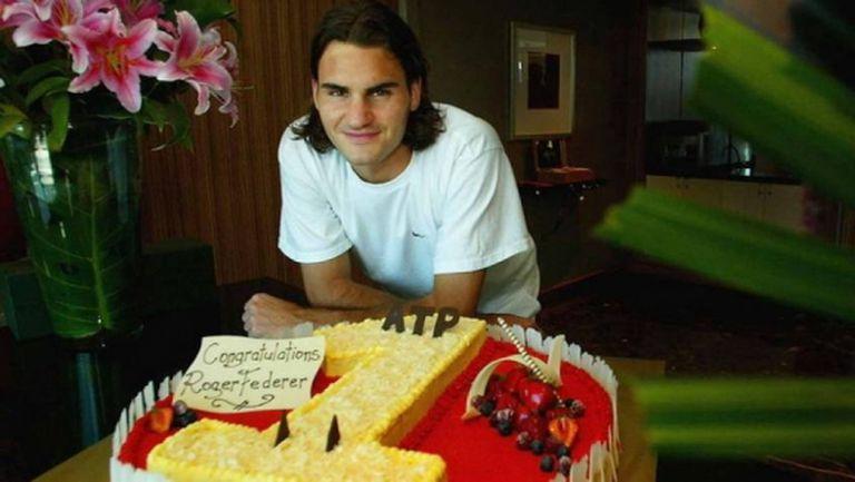 Преди точно 16 години Федерер стъпва за първи път на върха