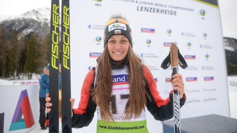 Милена Тодорова спечели трети медал на СП за юноши по биатлон