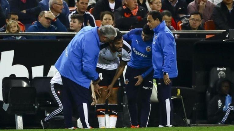 Валенсия загуби Гарай до края на сезона