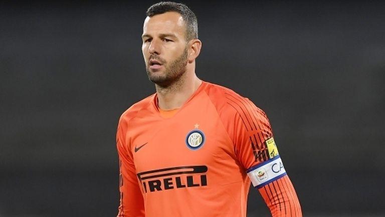 Самир Ханданович готов да играе в дербито с Милан със счупен пръст