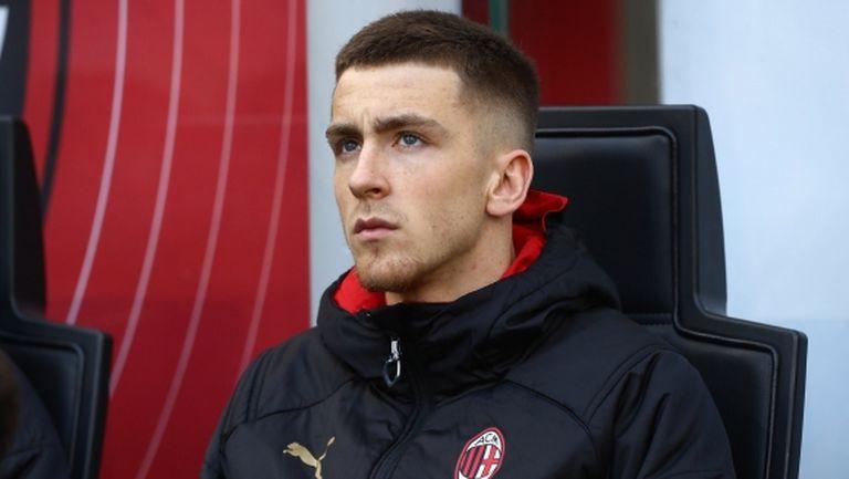 Най-новото попълнение на Милан: Гледах Ибра по телевизията, сега го виждам в съблекалнята