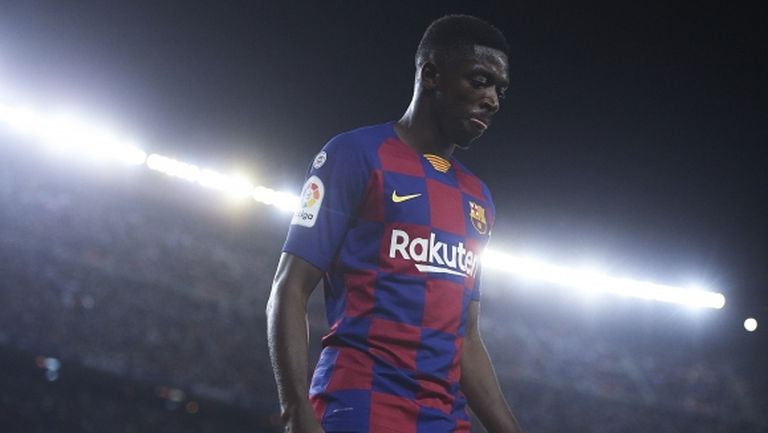 Барселона има право на заместник на Дембеле, ако той отсъства над 5 месеца