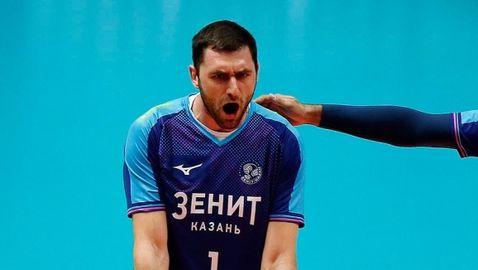 Цветан Соколов с 15 точки, Зенит (Казан) отнесе Зенит (Санкт Петербург)