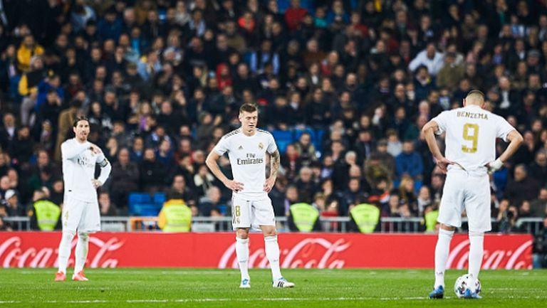 Реал никога не бе допускал 4 гола при Зидан