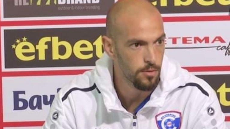 Гръцкият треньор на Спартак (Вн) си тръгва, ако бъдат избрани нови шефове