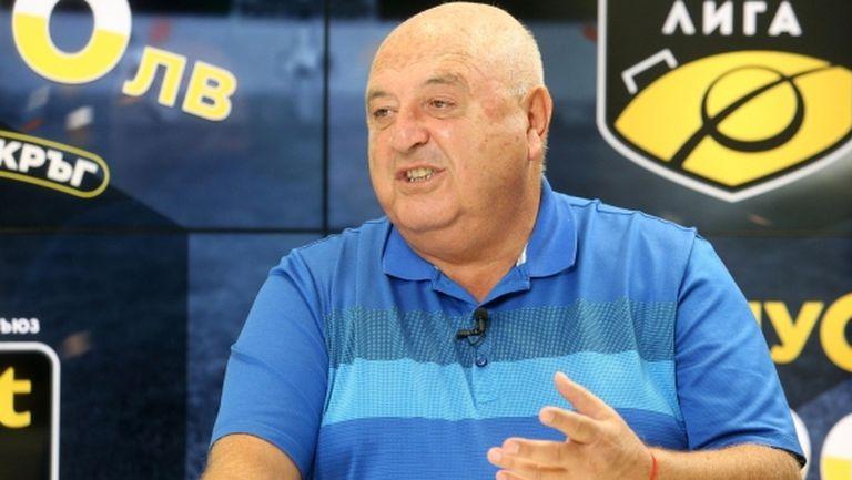 Стефанов: Ние си плащаме данъците и не се притесняваме, не съм сигурен, че Левски ще фалира
