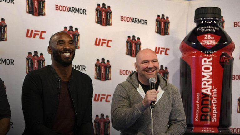 Дeйна Уайт: На UFC 247 ще почетем паметта на Коби Брайънт, той беше инвеститор в нашата лига