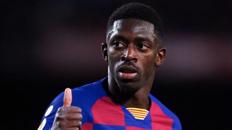 Контузията на Дембеле спести 5 милиона евро на Барселона за този сезон