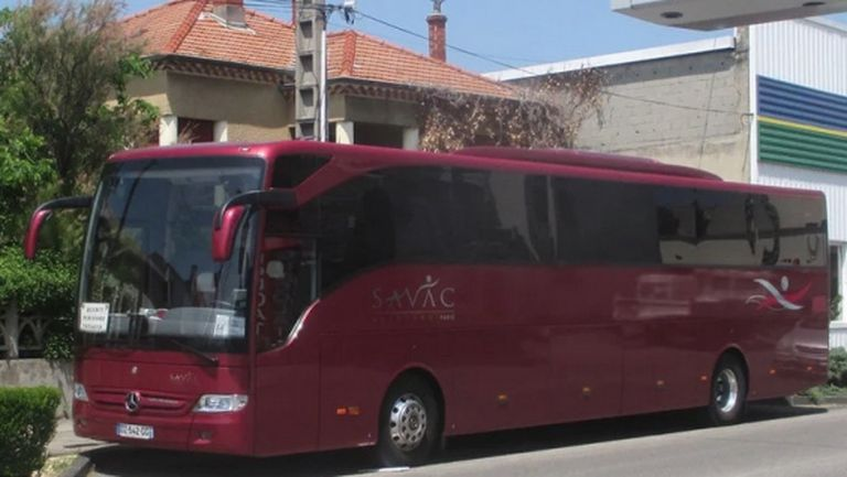 ЦСКА-София се сдоби с нов автобус