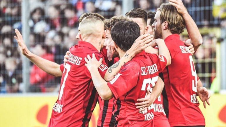 Дузпа помогна на Фрайбург срещу Хофенхайм (видео)