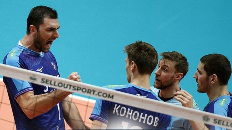 Цветан Соколов и Зенит (Казан) не дадоха шанс на Динамо в Москва