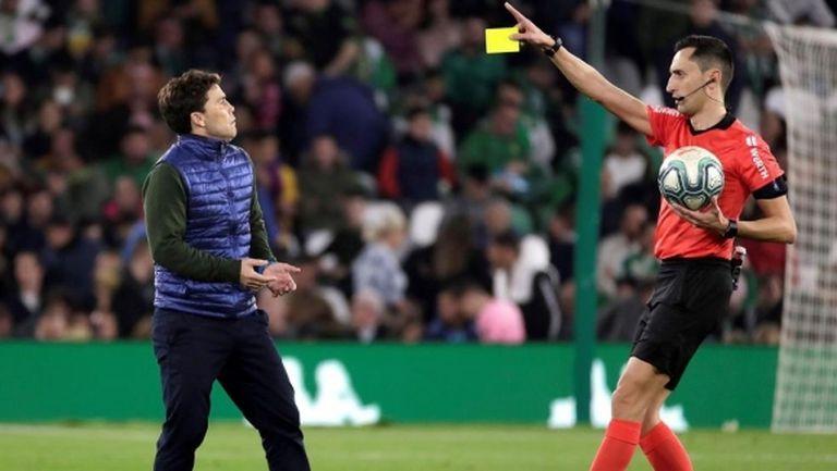 Треньорът на Бетис: Защо Сержи Роберто не получи втори жълт картон?