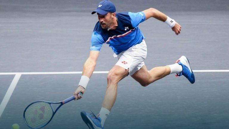 Тенис Сандгрен и Джак Сок отпаднаха още на старта в Ню Йорк