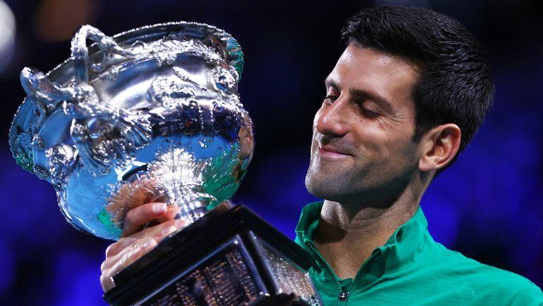 """Бащата на Джокович: Новак ще настигне Федерер по титли от """"Големия шлем"""" още тази година"""
