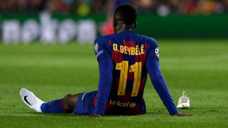 Барса загуби Дембеле за 6 месеца