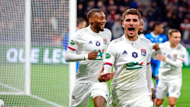 Лион пречупи Марсилия в последните минути (видео)