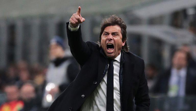 """Конте: Наполи има най-впечатляващият състав в Серия """"А"""" след Ювентус"""