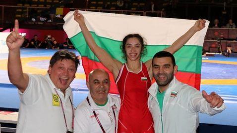 Ново злато!!! Миглена Селишка също спечели титлата на ЕП по борба