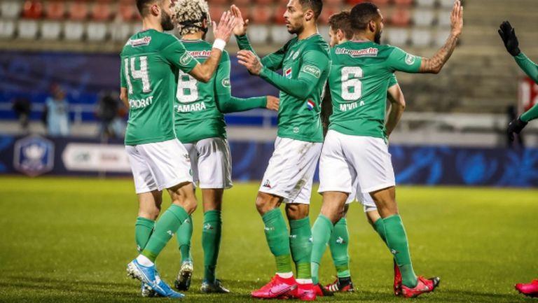 Сент Етиен намери място на 1/2-финала за Купата на Франция