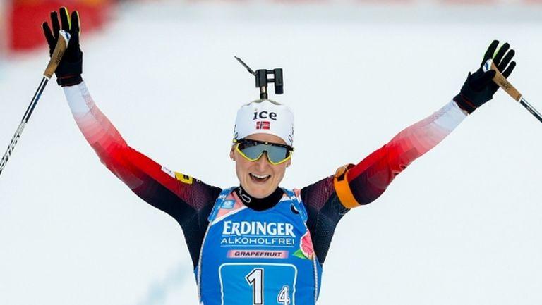 Марте Олсбу Рьозеланд спечели световната титла в спринта, Милена Тодорова е 27-а
