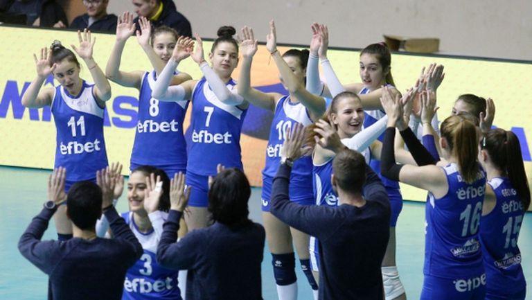 Грип повали Левски, отлагат се мачовете на сините от втория допълнителен турнир в НВЛ-жени