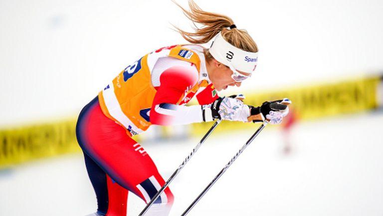 Нова доминация на Тереза Йохауг на 10 км свободен стил в ски-бягането