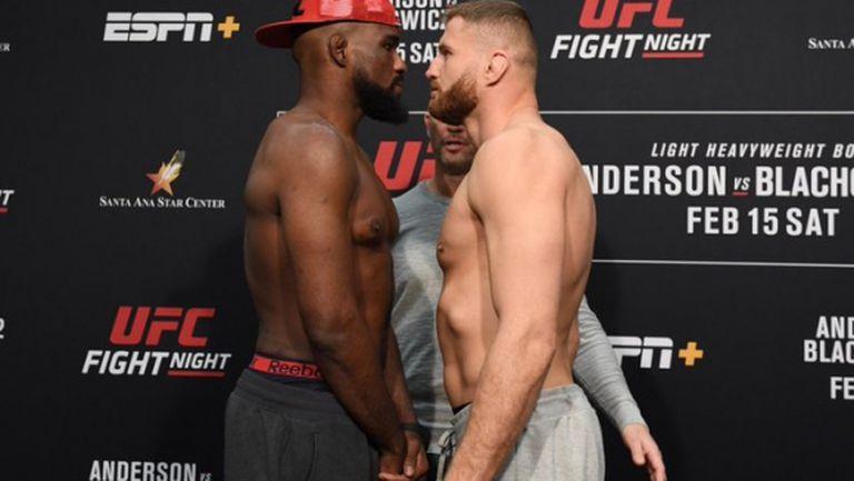 Ян Блахович е по-тежък от Кори Андерсън преди  UFC Fight Night 167 (видео)